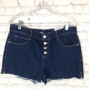 Old navy women's jean shorts denim NWT NEW Sz 10